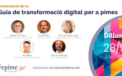 Jornada de presentación de la guía «Transformación digital para PYMES»